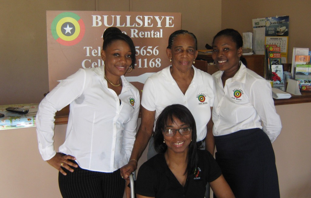 bullseye car rental in st kitts team